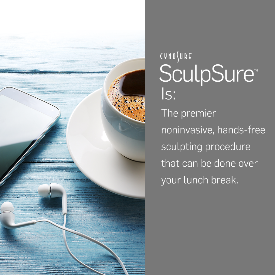 SculpSure Takes Less Time